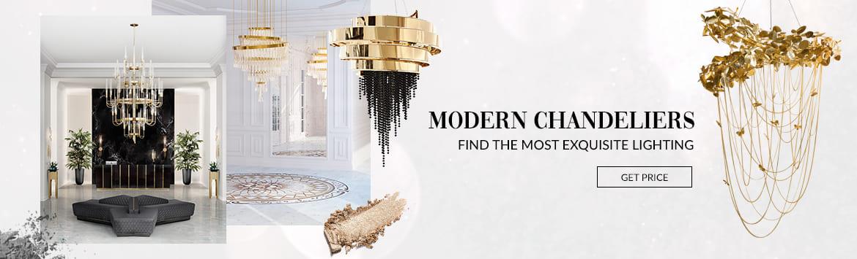 Modern Chandeliers Banner