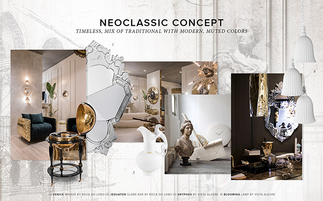 5 Neoclassicism Inspired Pieces for Your Bathroom