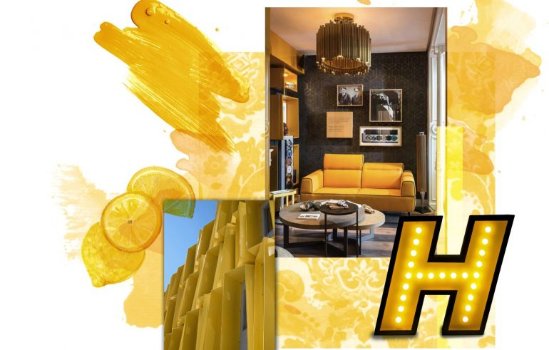 Color Trend Report – Home Decor Ideas With Pantone's Saffron Yellow