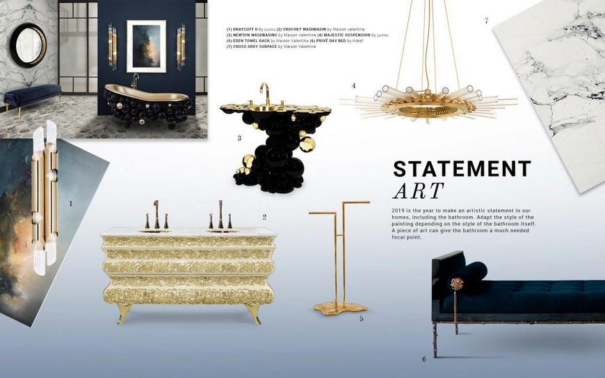 How To Transform Your Bathroom Design Into A Luxury Art Museum
