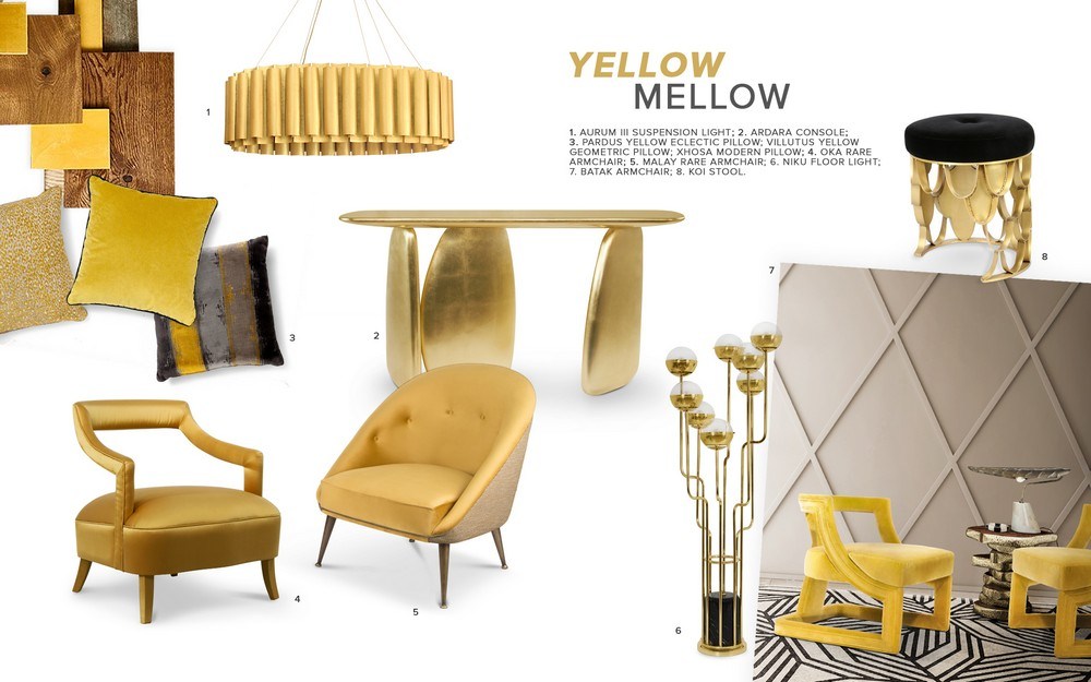 Regard the Best Interior Design Inspirations in Mellow Yellow Tones