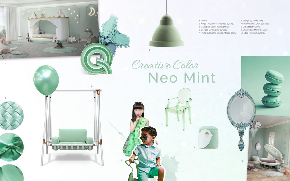 Set the Mood of Your Home Decor Using the Creativity Tones of Neo Mint