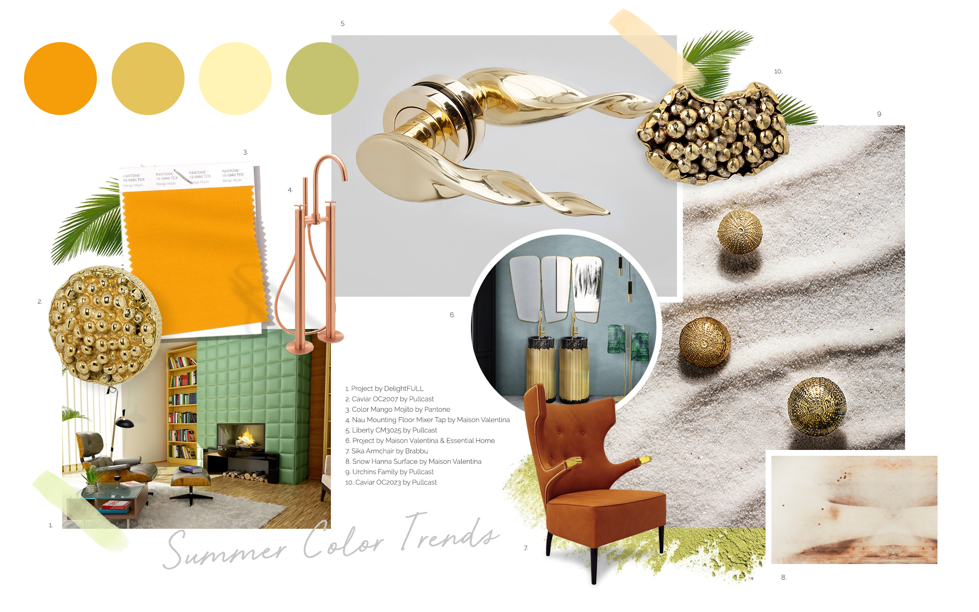 Summer Colors Trends