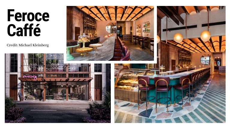 The Mid-Century Modern Vibe Of The Moxy Chelsea Hotel By Rockell Group