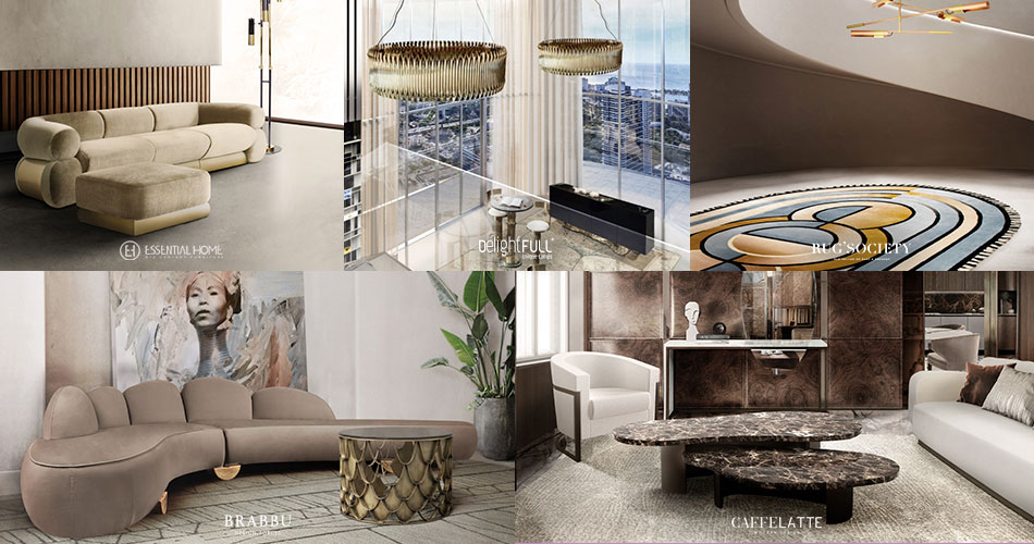 stunning and luxurious gallerys from paris Stunning and Luxurious Gallerys from Paris brands midcentury